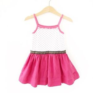 5/$30 Repurposed Valentines Day Dress size 18-24 m
